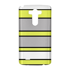 Yellow and gray lines LG G3 Hardshell Case