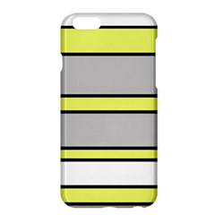 Yellow and gray lines Apple iPhone 6 Plus/6S Plus Hardshell Case