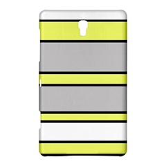 Yellow and gray lines Samsung Galaxy Tab S (8.4 ) Hardshell Case