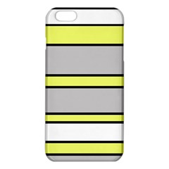 Yellow And Gray Lines Iphone 6 Plus/6s Plus Tpu Case