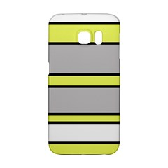 Yellow and gray lines Galaxy S6 Edge