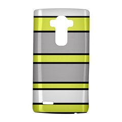 Yellow and gray lines LG G4 Hardshell Case