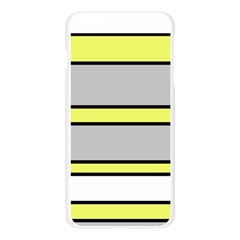 Yellow and gray lines Apple Seamless iPhone 6 Plus/6S Plus Case (Transparent)