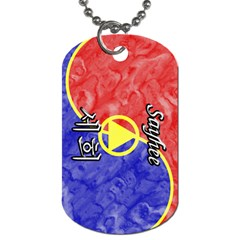 29 Sayhee Dog Tag (two Sided)
