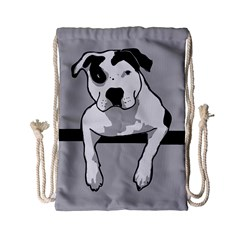 Pit Bull T-Bone Drawstring Bag (Small)