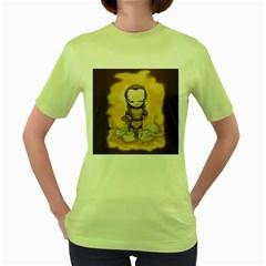 Scourge of Carpathia Women s Green T-Shirt