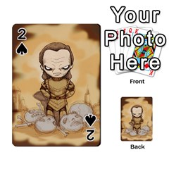 Scourge Of Carpathia Playing Cards 54 Designs