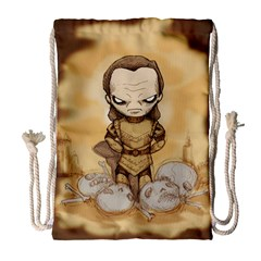 Scourge of Carpathia Drawstring Bag (Large)
