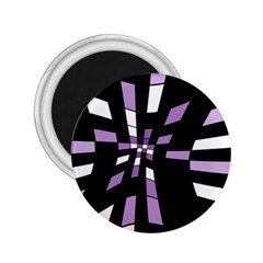 Purple abstraction 2.25  Magnets