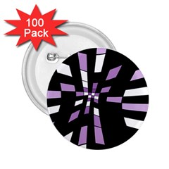 Purple abstraction 2.25  Buttons (100 pack)