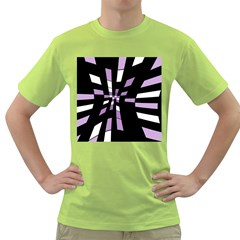 Purple abstraction Green T-Shirt