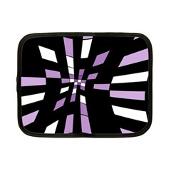 Purple abstraction Netbook Case (Small)
