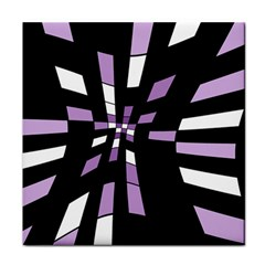 Purple abstraction Face Towel
