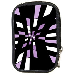 Purple abstraction Compact Camera Cases