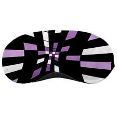 Purple abstraction Sleeping Masks