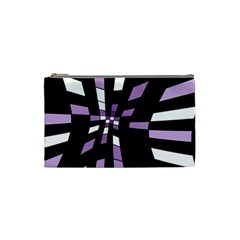 Purple abstraction Cosmetic Bag (Small)