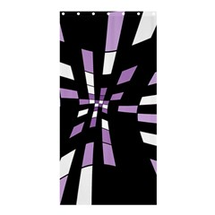 Purple abstraction Shower Curtain 36  x 72  (Stall)