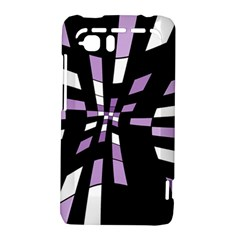 Purple abstraction HTC Vivid / Raider 4G Hardshell Case
