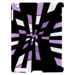 Purple abstraction Apple iPad 2 Hardshell Case (Compatible with Smart Cover)