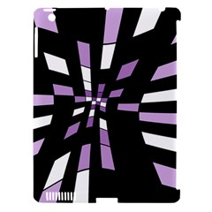Purple abstraction Apple iPad 3/4 Hardshell Case (Compatible with Smart Cover)
