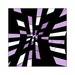 Purple abstraction Acrylic Tangram Puzzle (6  x 6 )