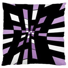 Purple abstraction Large Cushion Case (Two Sides)