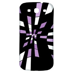 Purple abstraction Samsung Galaxy S3 S III Classic Hardshell Back Case