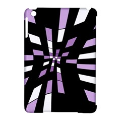Purple abstraction Apple iPad Mini Hardshell Case (Compatible with Smart Cover)