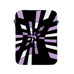 Purple abstraction Apple iPad 2/3/4 Protective Soft Cases