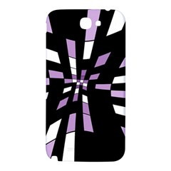 Purple abstraction Samsung Note 2 N7100 Hardshell Back Case