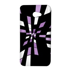 Purple abstraction HTC Butterfly S/HTC 9060 Hardshell Case
