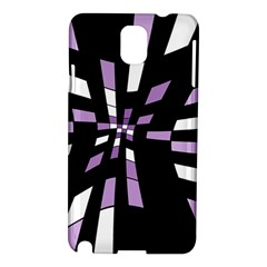 Purple abstraction Samsung Galaxy Note 3 N9005 Hardshell Case