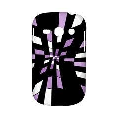 Purple abstraction Samsung Galaxy S6810 Hardshell Case