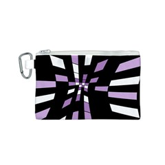 Purple abstraction Canvas Cosmetic Bag (S)