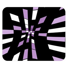 Purple abstraction Double Sided Flano Blanket (Small)