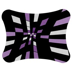 Purple abstraction Jigsaw Puzzle Photo Stand (Bow)