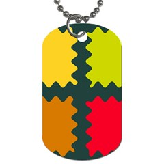 4 shapes                                                                                 Dog Tag (One Side)