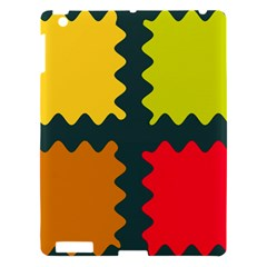 4 shapes                                                                                 			Apple iPad 3/4 Hardshell Case
