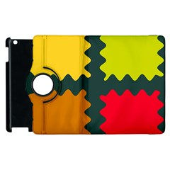 4 shapes                                                                                 			Apple iPad 3/4 Flip 360 Case