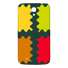 4 shapes                                                                                 			Samsung Galaxy Mega I9200 Hardshell Back Case
