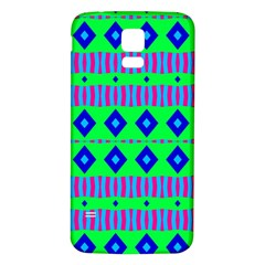Rhombus and stripes                                                                                   Samsung Galaxy S5 Back Case (White)
