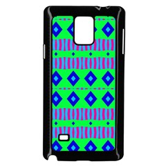 Rhombus and stripes                                                                                   			Samsung Galaxy Note 4 Case (Black)