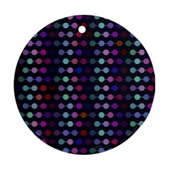 Connected dots                                                                                     Ornament (Round)