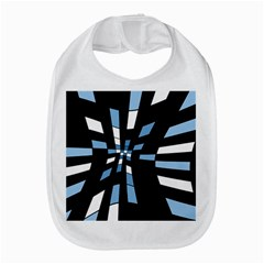 Blue Abstraction Bib