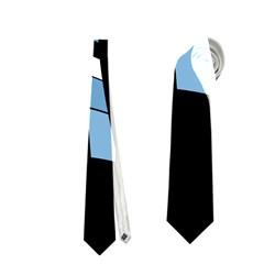 Blue abstraction Neckties (Two Side)