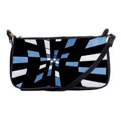 Blue abstraction Shoulder Clutch Bags