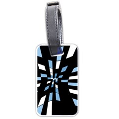 Blue abstraction Luggage Tags (Two Sides)