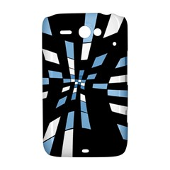 Blue abstraction HTC ChaCha / HTC Status Hardshell Case