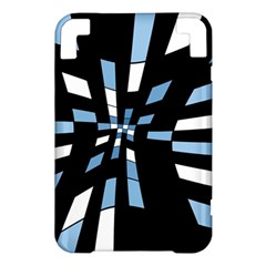 Blue abstraction Kindle 3 Keyboard 3G