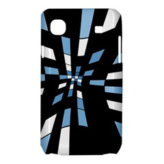 Blue abstraction Samsung Galaxy SL i9003 Hardshell Case